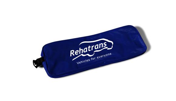 nylon bag emergency kit for cars blue