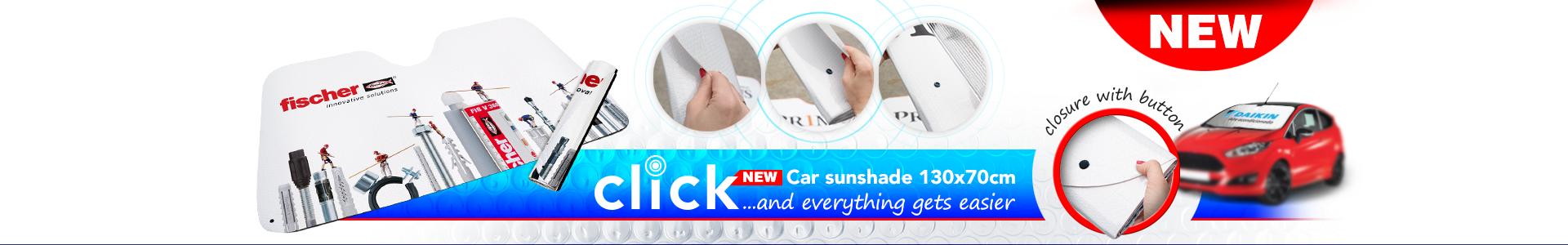 New Car Sunshade Click